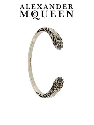 Alexander McQueen skull design Bangle