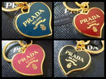 PRADA Heart Keychains & Bag Charms