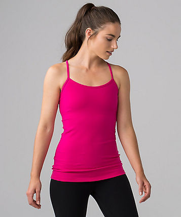 First on one piece Power Y Tank magenta