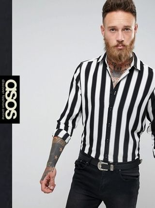 ASOS Stripes Short Sleeves Shirts