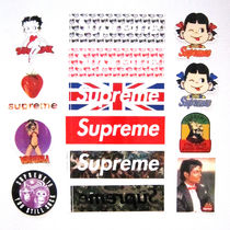 Supreme Street Style Collaboration Plain Accessories