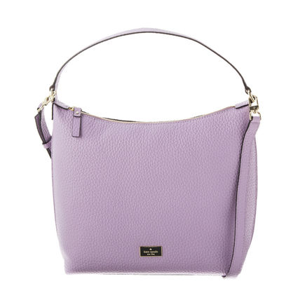 Casual Style 2WAY Plain Leather Handbags