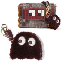 Anya Hindmarch Unisex Leather Keychains & Bag Charms