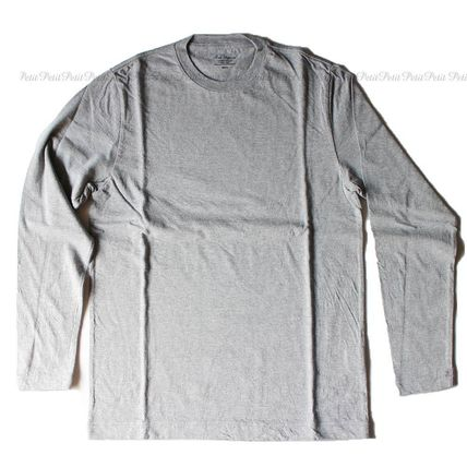 Ron Herman Long Sleeve Long Sleeves Plain Cotton Long Sleeve T-Shirts 4