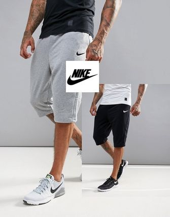 In a fashionable Nike shorts