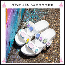 SOPHIA WEBSTER Open Toe Casual Style Sandals Sandals