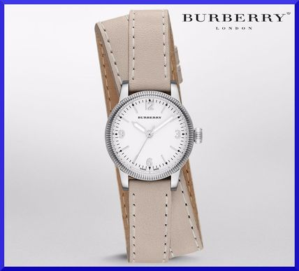 Oversized silver watches