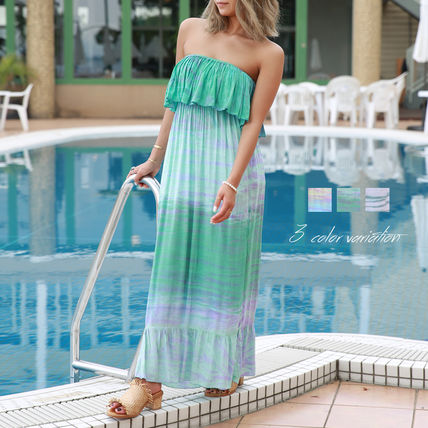 Zebra Patterns Tropical Patterns Casual Style Maxi Long