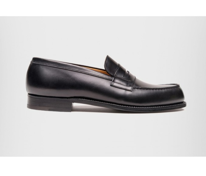 shop j.m.weston signature loafer 180