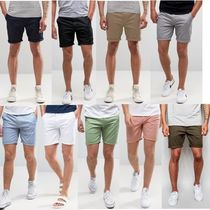 ASOS Plain Cotton Shorts