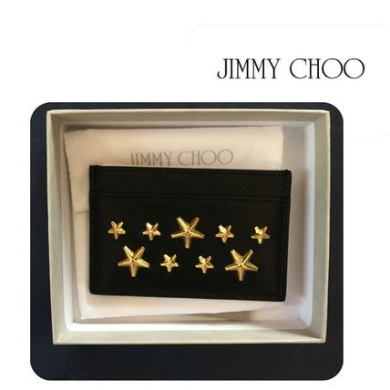 Final sale Star studded cardholder studded cardholder