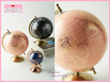 18 AW best price Anthro Decorative Globe Pink L