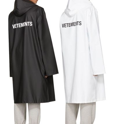 VETEMENTS Street Style Plain Long Coats