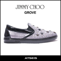 Jimmy Choo Star Loafers Street Style Leather Loafers & Slip-ons