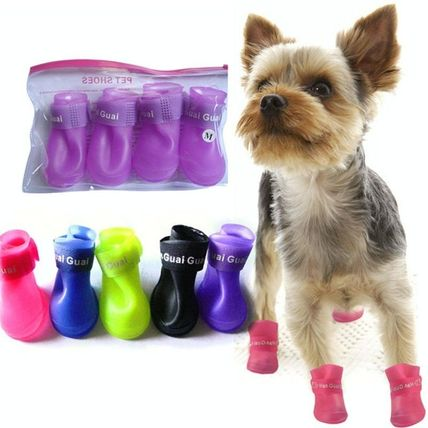 Pet boots rain boot rain the day bore with into.