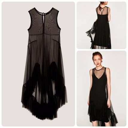 ZARA frildeigntulle dress