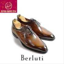 Berluti ALESSANDRO Leather Oxfords