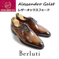 Berluti ALESSANDRO Leather Handmade Oxfords
