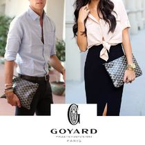 GOYARD Unisex Bag in Bag Clutches