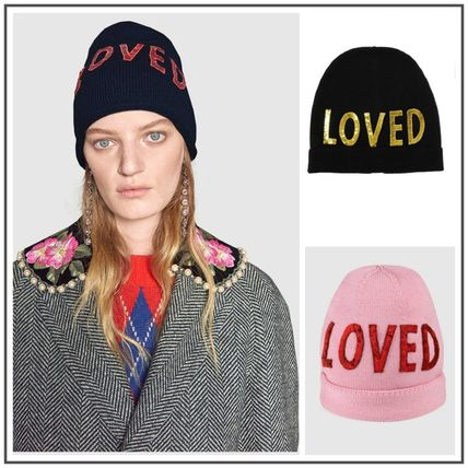 ... GUCCI Keychains   Bag Charms Wool Hat With Sequin