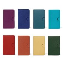 HERMES Calfskin Plain Card Holders