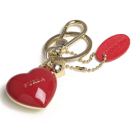 Key ring RH 95 CUORE PICCOLO 790939 color RUBY - red