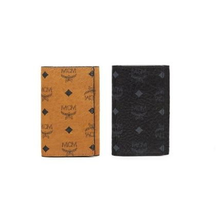 MCM Leather Keychains & Holders