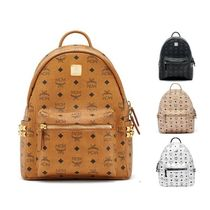 MCM Street Style Leather Backpacks