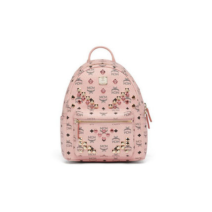 MCM Casual Style Street Style Backpacks