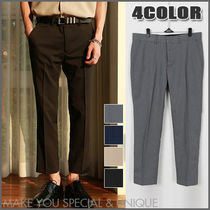Slax Pants Nylon Plain Slacks Pants