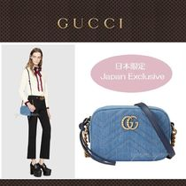 4887bab96caf GUCCI GG Marmont Casual Style Chain Plain Shoulder Bags