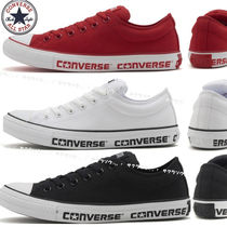 CONVERSE ALL STAR Unisex Plain Low-Top Sneakers