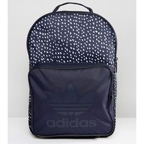 adidas Dots Unisex Canvas A4 Plain Backpacks