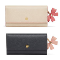 MCM Street Style Leather Long Wallets