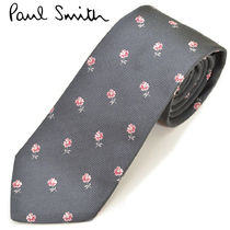 Paul Smith Flower Patterns Silk Ties