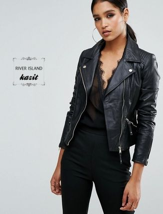 River Island Casual Style Leather Biker Jackets