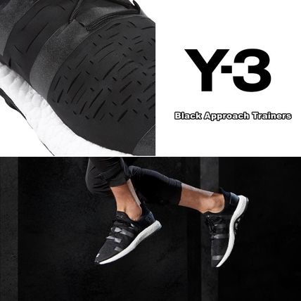 Wesley Sport Black Approach Trainers