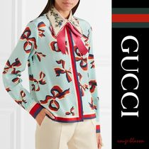 GUCCI Casual Style Wool Shirts & Blouses