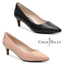 Cole Haan Leather Kitten Heel Pumps & Mules