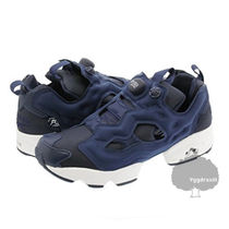 Reebok PUMP FURY Lace-up Casual Style Street Style Low-Top Sneakers