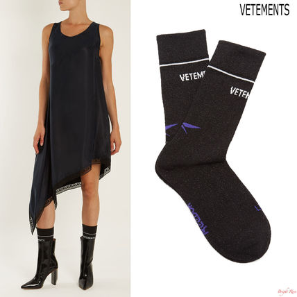 VETEMENTS X Reebok Edition Classic cotton blend socks