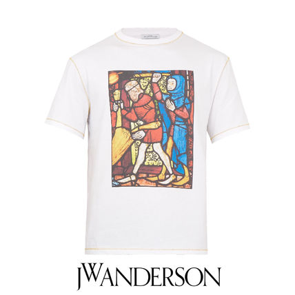 J.W.ANDERSON 17AW stained glass print S S T shirt