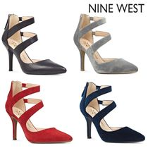Nine West Leather High Heel Pumps & Mules