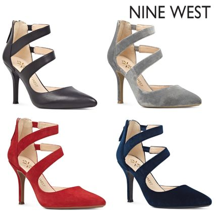 Leather High Heel Pumps & Mules