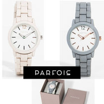 PARFOIS Casual Style Round Analog Watches
