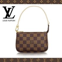 Louis Vuitton DAMIER Other Check Patterns Chain PVC Clothing