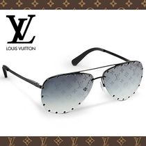 Louis Vuitton Studded Tear Drop Sunglasses