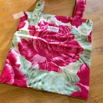 Cath Kidston Flower Patterns Casual Style Canvas A4 Shoulder Bags
