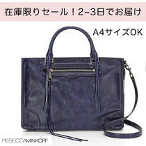 Rebecca Minkoff A4 2WAY Plain Leather Totes