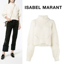 Isabel Marant Short Casual Style Wool Plain Cropped